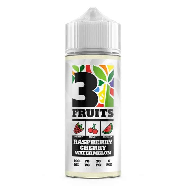 Raspberry, Cherry, Watermelon Shortfill by 3 Fruits