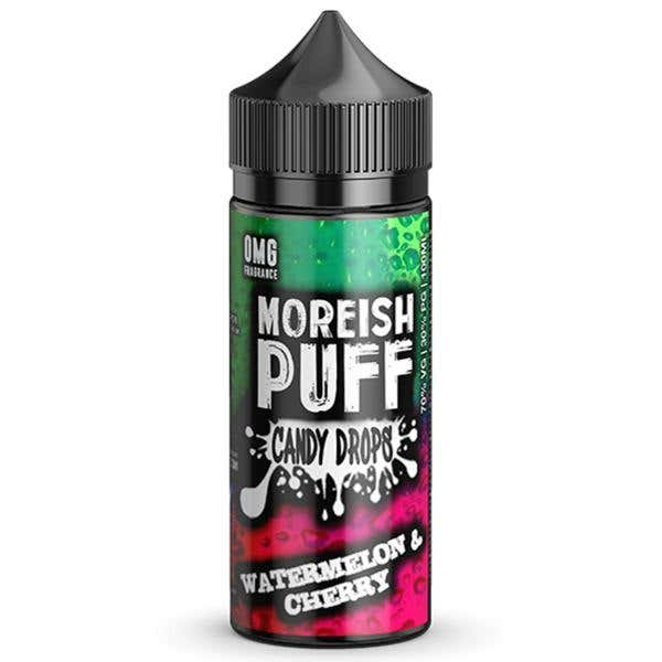 Watermelon & Cherry Candy Drops Shortfill by Moreish Puff