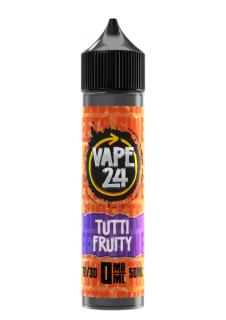 Vape 24 Sweets Tutti Fruity Shortfill