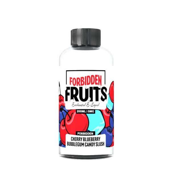 Cherry Blueberry Bubblegum Candy Slush Shortfill by Forbidden Fruits