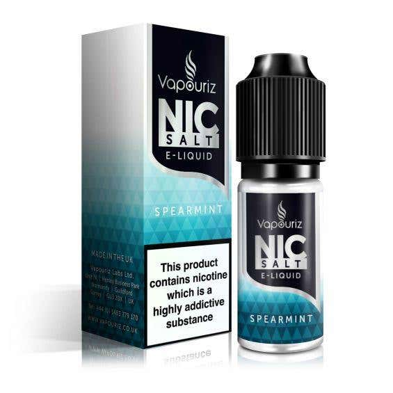 Spearmint Nicotine Salt by Vapouriz