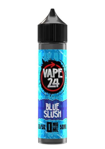 Blue Slush Shortfill by Vape 24