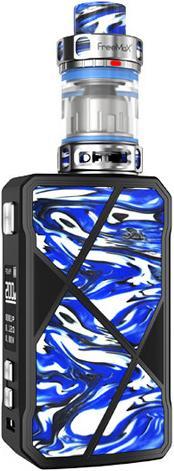 BlueZinc Alloy & Stainless Steel Maxus Vape Device by FreeMax