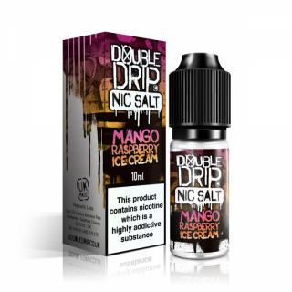 Double Drip Mango Raspberry Ice Cream Nicotine Salt