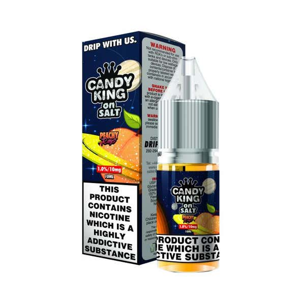 Peachy Rings Nicotine Salt by Candy King