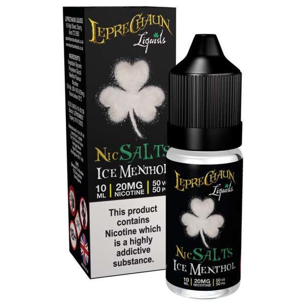 Ice Menthol Nicotine Salt by Leprechaun