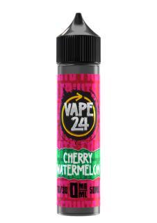 Vape 24 Fruits Cherry Watermelon Shortfill