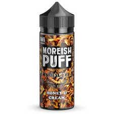 Honey & Cream Tobacco Shortfill by Moreish Puff