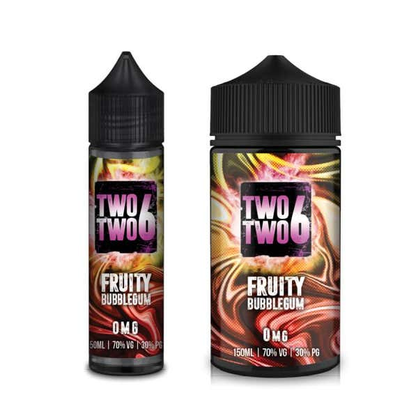 Fruity Bubblegum Shortfill by Two Two 6
