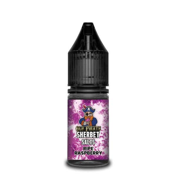 Sherbet Ripe Raspberry Nicotine Salt by Old Pirate