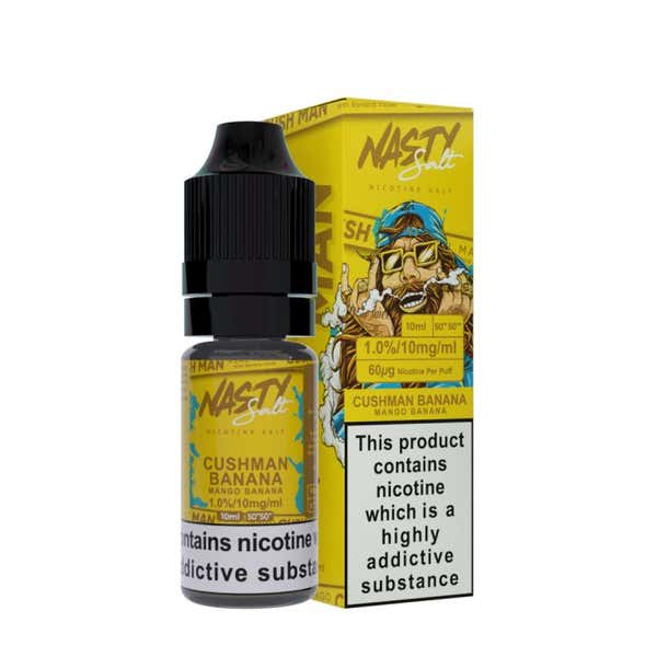 Cushman Banana Nicotine Salt by Nasty Juice