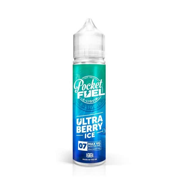 Ultra Berry Ice Shortfill by Pocket Fuel