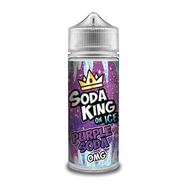 Purple Soda On Ice Shortfill by Soda King