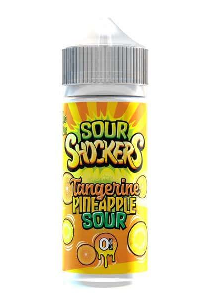 Tangerine & Pineapple Sour Shortfill by Sour Shockers