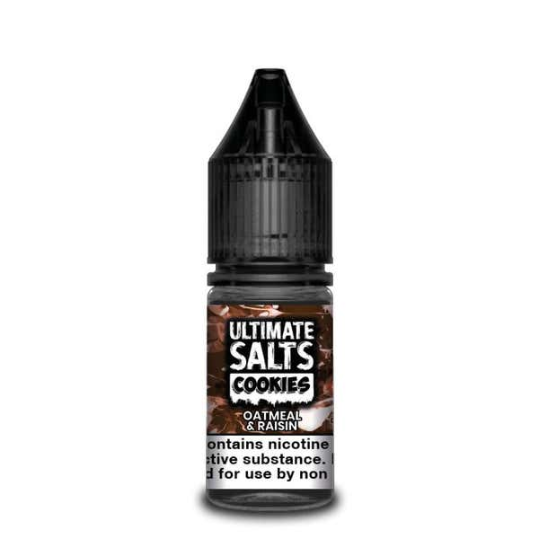 Cookies Oatmeal & Raisin Nicotine Salt by Ultimate Puff