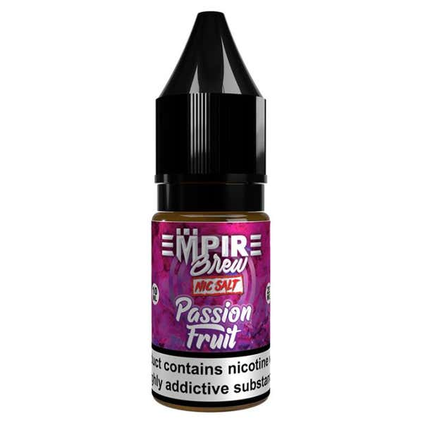 Passion Fruit Nicotine Salt by Empire Brew