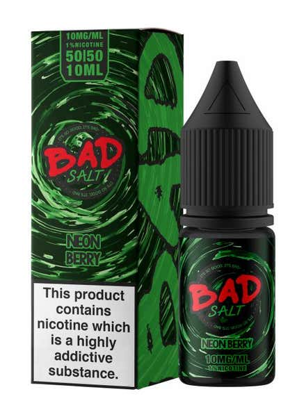 Neon Berry Nicotine Salt by BAD Juice