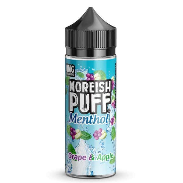 Grape & Apple Menthol Shortfill by Moreish Puff