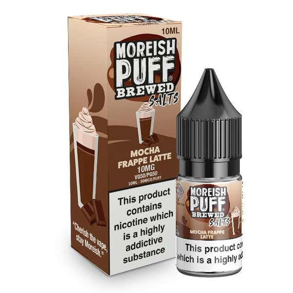 Mocha Frappe Latte Nicotine Salt by Moreish Puff