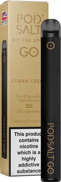 Cuban Creme Disposable by Pod Salt