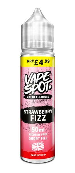 Strawberry Fizz Shortfill by Vape Spot