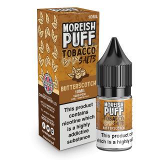 Moreish Puff Butterscotch Tobacco Nicotine Salt