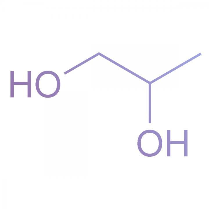 Propylene Glycol Chemical Structure