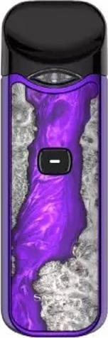 Wood PurpleZinc Alloy NORD Vape Device by SMOK