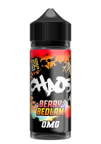 Berry Bedlam Shortfill by Chaos