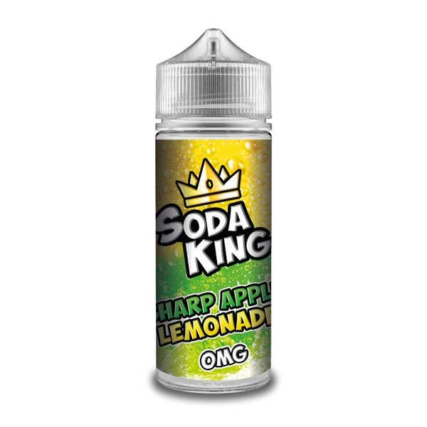 Sharp Apple Lemonade Shortfill by Soda King