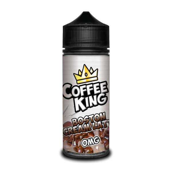 Boston Cream Latte Shortfill by Coffee King