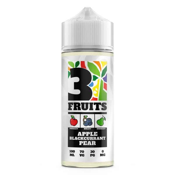 Apple, Blackcurrant, Pear Shortfill by 3 Fruits