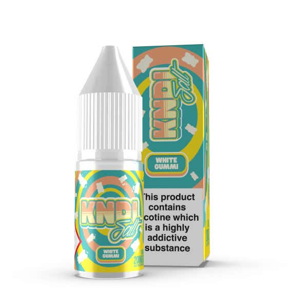 White Gummi Nicotine Salt by KNDI