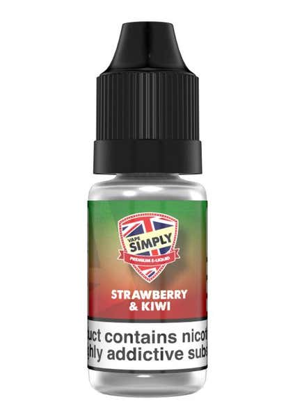Strawberry Kiwi Regular 10ml by Vape Simply