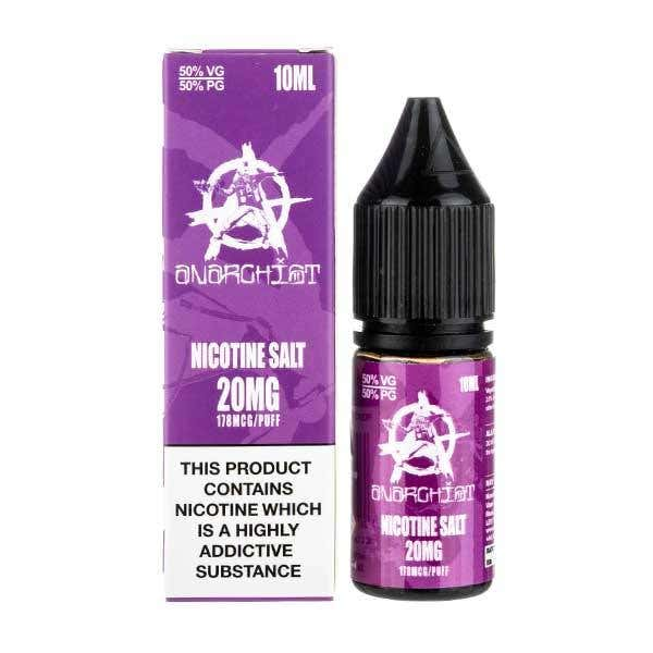 Purple Nicotine Salt by Anarchist