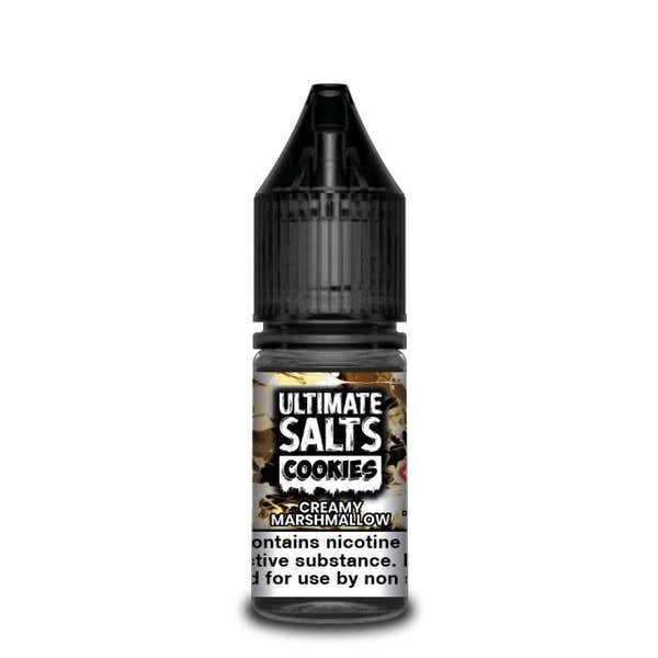 Cookies Creamy Marshmallow Nicotine Salt by Ultimate Puff