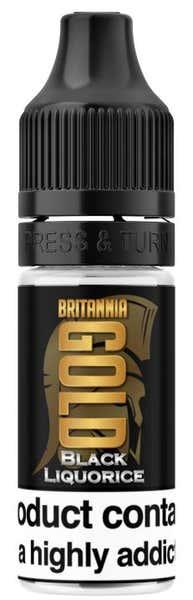 Black Liquorice Regular 10ml by Britannia Gold