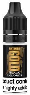 Britannia Gold Black Liquorice Regular 10ml