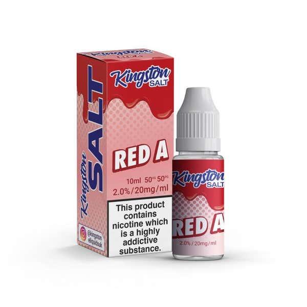 Red A Nicotine Salt by Kingston