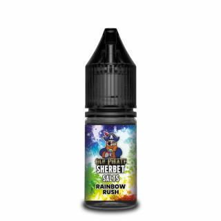 Old Pirate Sherbet Rainbow Rush Nicotine Salt