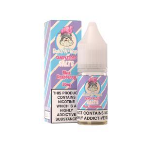 BakeNVape Blueraspberry Candy Floss Nicotine Salt