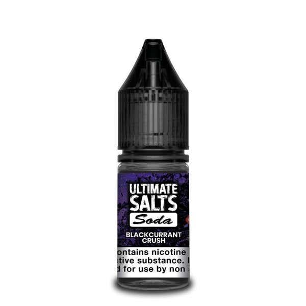 Soda Blackcurrant Crush Nicotine Salt by Ultimate Puff