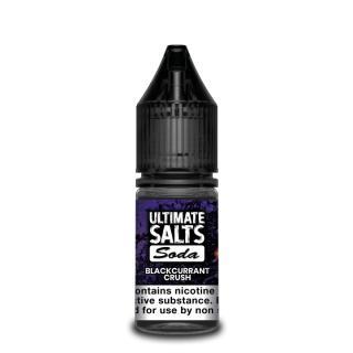 Ultimate Puff Soda Blackcurrant Crush Nicotine Salt