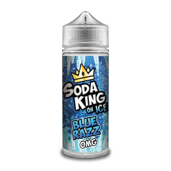 Blue Razz On Ice Shortfill by Soda King