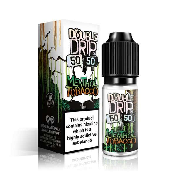 Menthol Tobacco Regular 10ml by Double Drip