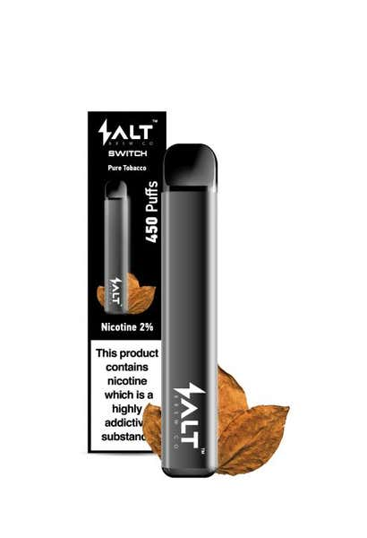 Pure Tobacco Disposable by Salt Switch