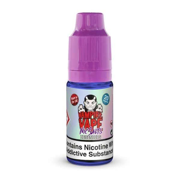 Heisenberg Nicotine Salt by Vampire Vape
