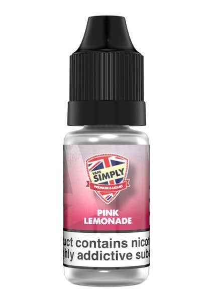 Pink Lemonade Regular 10ml by Vape Simply