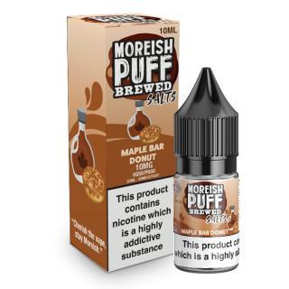 Moreish Puff Maple Bar Donut Nicotine Salt