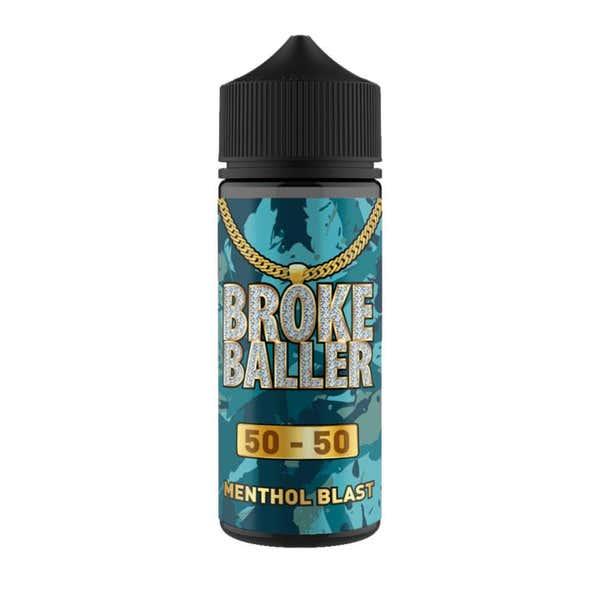 Menthol Blast Shortfill by Broke Baller